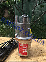 Насос вибрационный Дайвер-3 (Харьков), верхний забор воды, 3 клапана, фото 1