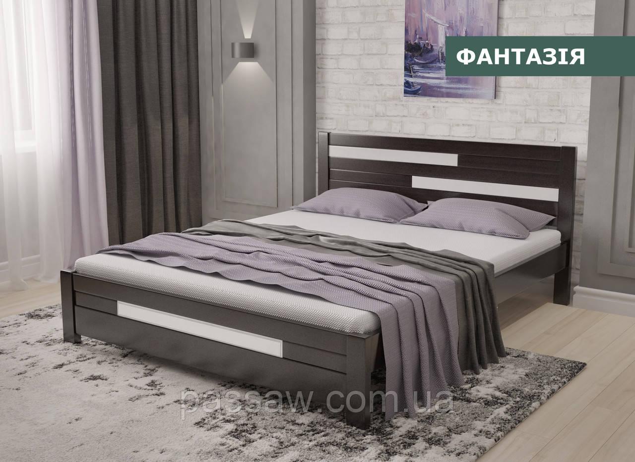 """Кровать деревянная """"Фантазия"""" 0,8  ольха"""