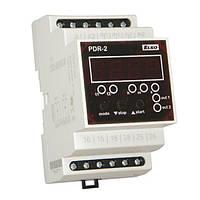 PDR 2/B UNI Программируемое цифровое реле, 2 рел в одном, вых. 2х16А, 10 функций, питание AC/DC 12-240В, 3 модуль