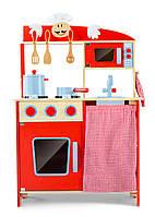 Кухня детская игровая деревянная W72 Tobi Toys ( интерактивная кухня кухня для детей )