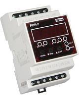 PDR 2/A UNI Программируемое цифровое реле,вых. 2х16А, 16 функций, питание AC/DC 12-240В, 3-х модульное