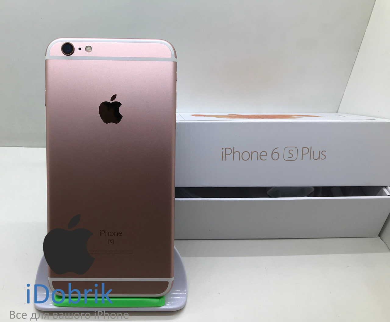 Телефон Apple iPhone 6s Plus 16gb Rose Gold Neverlock 10/10