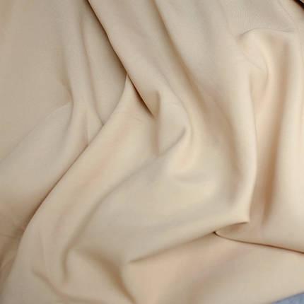 Ткань габардин бежевый, фото 2