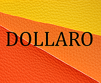 "Кожвинил 1,4 мебельный ""dollaro"" желтый, фото 1"