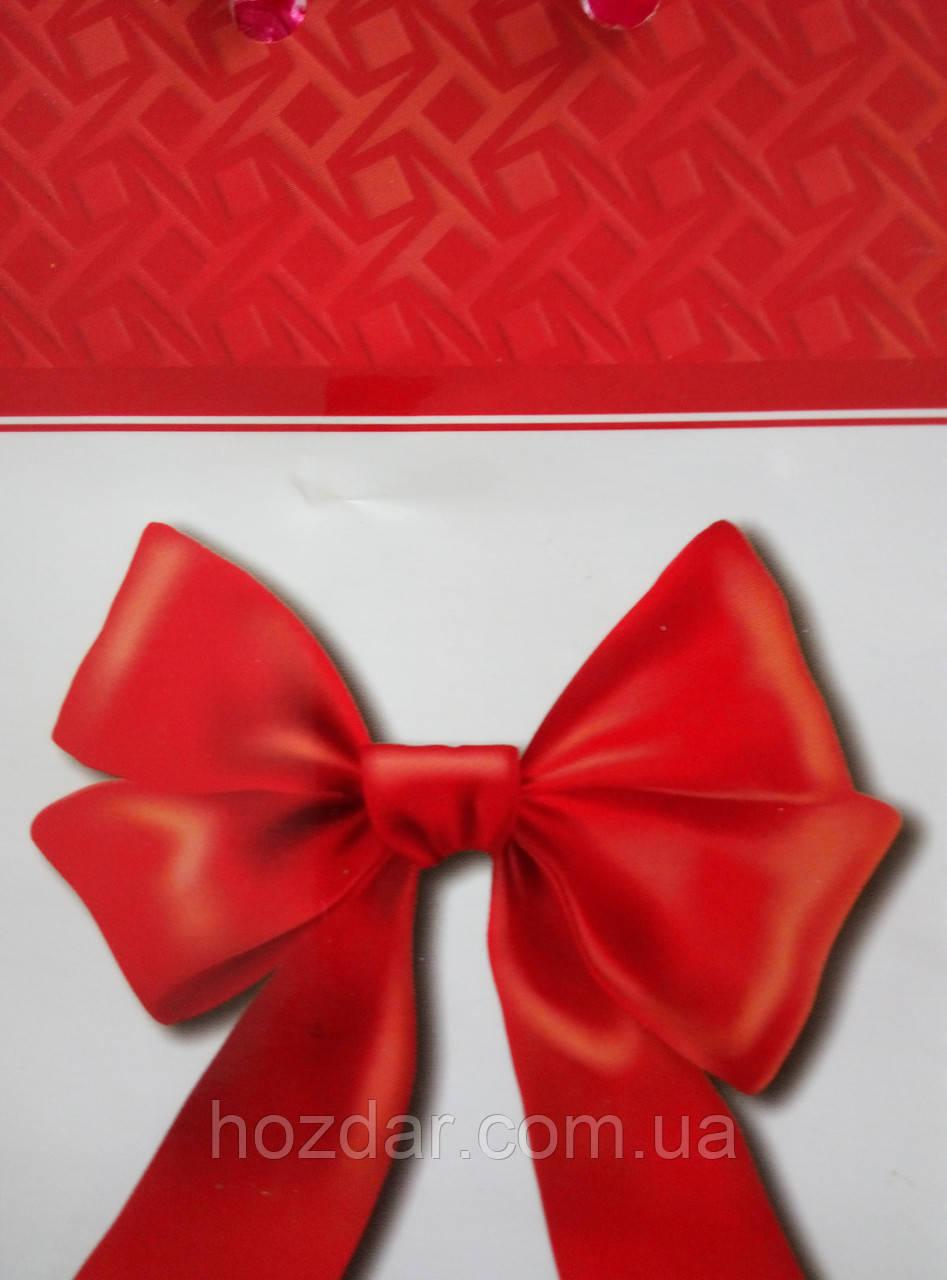Пакет подарочный бумажный мини 8х13х4 (20-052)