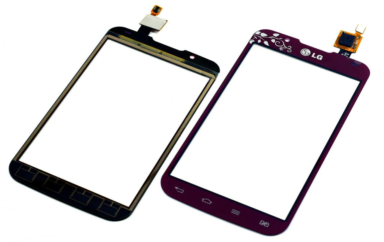 Сенсор LG P715 Optimus L7 II Dual la fleur red .s