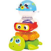 """Набор для купания """"Веселая компания"""", Huile Toys"""