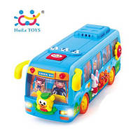 Игрушка Танцующий автобус, Huile Toys