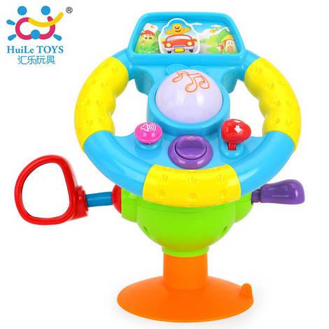 """Игрушка """"Забавный руль"""", Huile Toys"""
