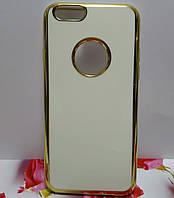 """Чехол """"Глянец белый"""" для iPhone 6\6S."""
