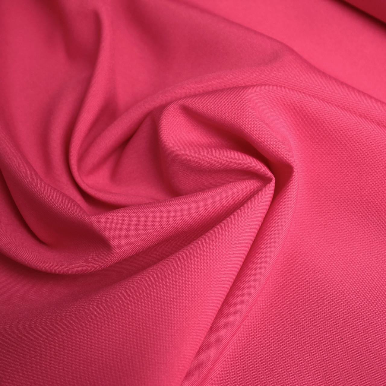 Ткань габардин малиновый