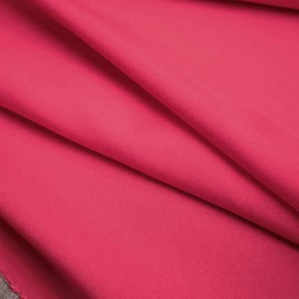 Ткань габардин малиновый, фото 2