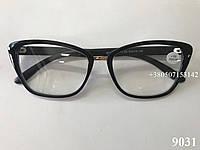 Очки женские. Модель 9031 черные, фото 1