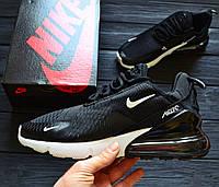 "Кроссовки Nike Air Max 270 "" Black/White"" . Живое фото. Топ реплика"
