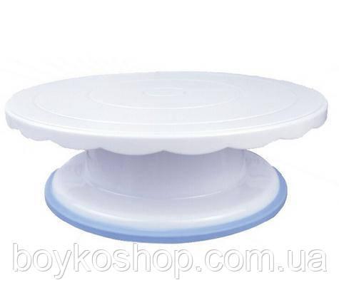 Стойка для торта 280мм вращающаяся пластмасса
