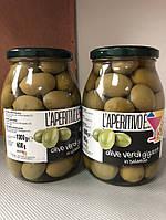 Оливки L'aperitivo с косточкой 1000/600г