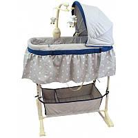 Колыбель для новорожденного Baby Mix LCP-PL501 grey