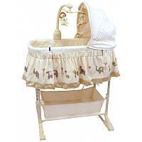 Колыбель для новорожденного Baby Mix LCP-PL501 beige