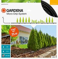 """Микрокапельный полив (набор для полива рядков 25м.)  """"GARDENA"""" (Германия)"""