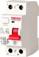 E.rccb.stand.2.40.30 2р УЗО (дифференциального тока) e.rccb.stand.2.40.30 2р, 40А, 30mA