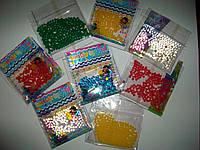 Гидрогель. Orbeez. Шарики растущие в воде. Около 150 шариков пакет.