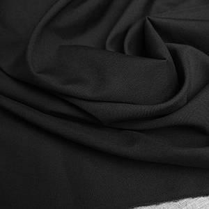 Костюмна тканина чорний габардин