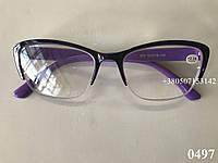 Женские очки. Модель 0497 фиолетовые, фото 1