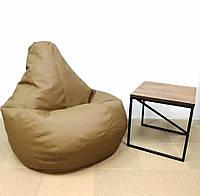 Кресло-груша экокожа XL