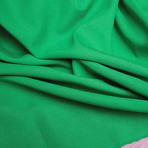 Костюмная ткань габардин зеленый трава