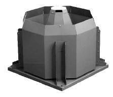 Вентилятор радиальный крышный ССК ТМ KROV91-F-063-N-00300/6-Y1