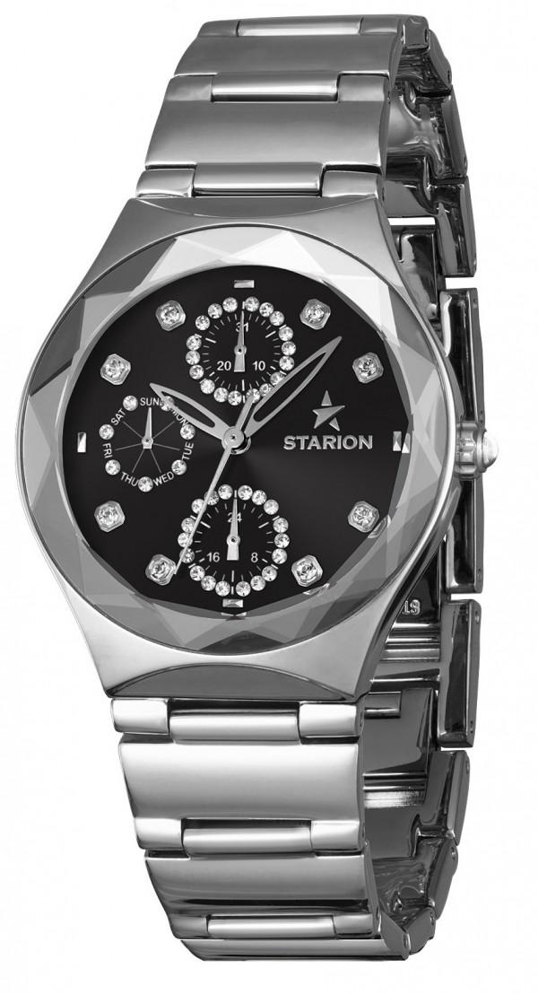 Годинник жіночий STARION J033G.02 S/Black браслет