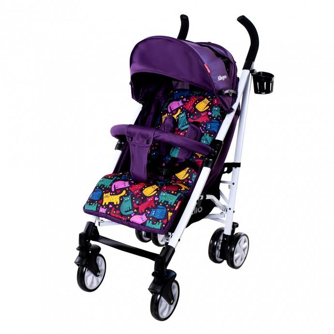 Коляска-трость Allegro, «Carrello» (CRL-10101), цвет Kitty Purple (фиолетовый)