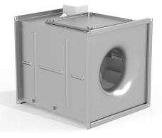 Вентилятор канальный радиальный квадратный ССК ТМ C-KVARK-35-35-2