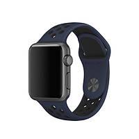 Ремешок для Apple Watch Sport Nike 38mm obsidian black (темно синий)