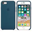 Чехол накладка на iPhone 5/5s/se Silicone Case Cosmos blue, фото 2
