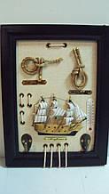 Картина в морському стилі дерев'яна розмір 25*19