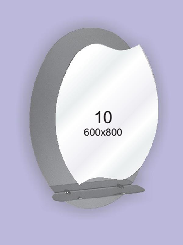 Зеркало для ванной комнаты 600х800 Ф10