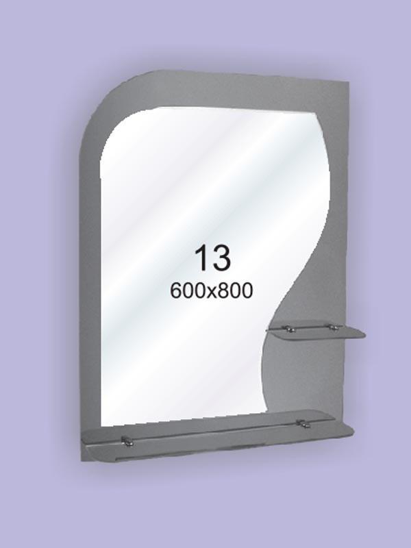 Зеркало для ванной комнаты 600х800 Ф13