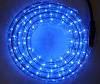 Светодиодный дюралайт DeLux жильный синий гирлянда внешняя.