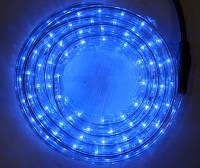 Светодиодный дюралайт DeLux жильный синий гирлянда внешняя., фото 1