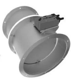 Клапан дымоудаления Веза КПУ-2-Д-Н-280-2*ф-ЭМП220