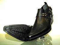 Казаки Etor мужские туфли кожаные Турция
