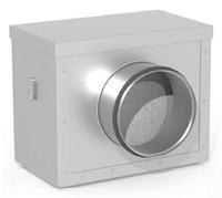 Фильтр канальный для круглых каналов ССК ТМ C-FКК-150
