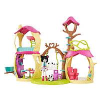 Детский игровой набор Enchantimals Лесной домик