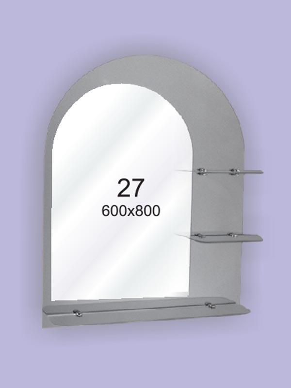 Зеркало для ванной комнаты 600х800 Ф27