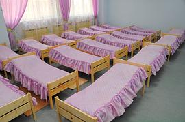 Покрывала и накидки на кровати для детских садиков, санаториев, лагерей