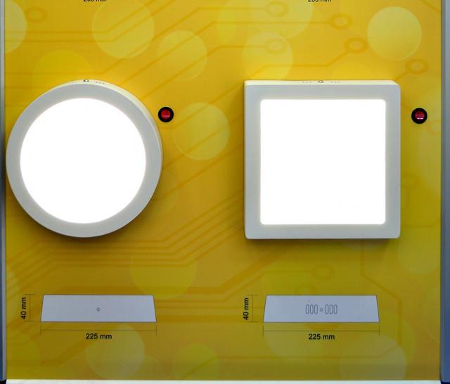 Накладные светодиодные светильники LED