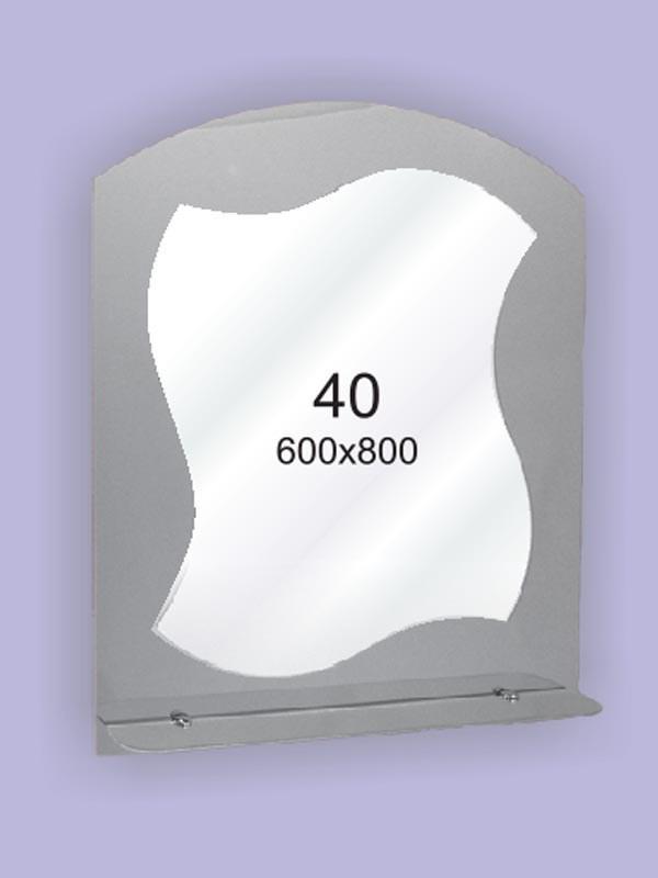 Зеркало для ванной комнаты 600х800 Ф40