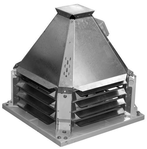 Вентилятор крышный дымоудаления Веза КРОС-9-12,5-ДУ-Н-0-7x485-220/380
