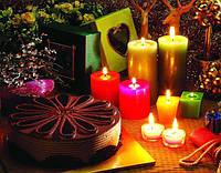 Декоративные свечи в современном интерьере